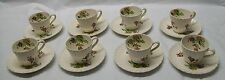 Teacup Saucer Copeland Spode Wicker Lane Tiffany Co Felt Protectors Set