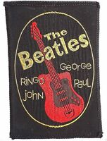 Beatles NEMS & Fan Club approved UK embroidered cloth patch badge
