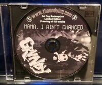 Blaze Ya Dead Homie - Mama, I Ain't Changed CD rare insane clown posse twiztid