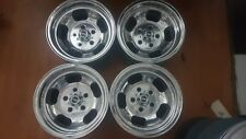 Aunger 14 x 8 jelly bean set 4 suit Holden HQ - WB GTS polished new nuts/caps