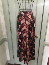 Summer T-Bags Palazzo Pants Viscose S Black Orange Red