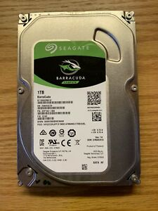"""1TB Seagate BarraCuda 3.5"""" SATA 7200RPM 64MB Hard Drive HDD ST1000DM010"""