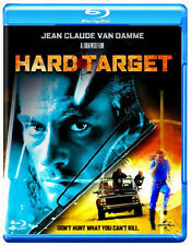 Hard Target NEW Cult Blu-Ray Disc John Woo Jean-Claude Van Damme Yancy Butler