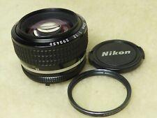 Nikon Nikkor 50mm f/1.2 Ai-S standard prime lens serviced and cleaned sept 2019