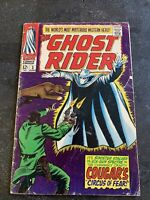 Marvel comics The Ghost Rider #3 Issue dated 1967 (12 cent Cover)