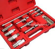 "11pc 3/8"" Master Spark Glow Plug Socket Petrol Diesel Removal Install Tool Set"