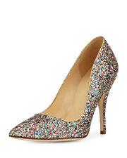 NIB KATE SPADE New York Licorice Too Women Shoes Pump Heels Multi Glitter Sz 6.5