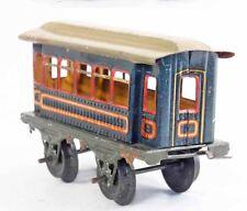 Train echelle O  BING VOITURE BLEUE / 3 / jouet ancien