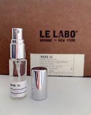 LE LABO - ROSE 31  Eau de Parfum 5ml Glass Spray Travel SAMPLE 0.17OZ UNISEX