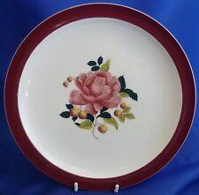 "A WEDGWOOD 'BARLASTON ROSES' 10"" DINNER PLATE"