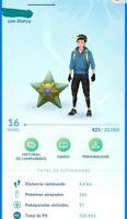 Cuenta pokemon go con 9 Magikarp shiny Staryu shiny Maractus y Heracross