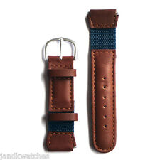 Leather Watch Strap 16 Millimeters for Midsize Timex Expedition Water Resistant