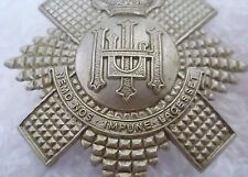 Badge- VINTAGE Royal Highland Fusiliers Pipers Badge QC (WM,Org*)