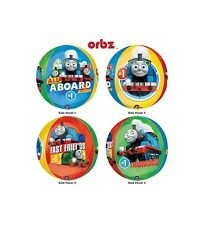 Party Supplies Boys Birthday Thomas the Tank Orbz Foil Balloon