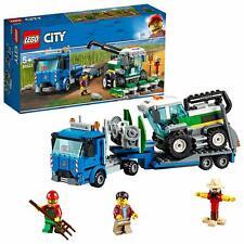 LEGO 60223 City Great Vehicles Harvester Transport Farm Life Truck Building Set