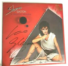 Sheena Easton Signed LP A Private Heaven on Promotional Vinyl