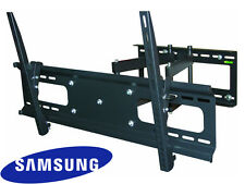 "Cantilever Tilt Swivel Samsung TV Wall Mount 42 Inch 50"" 55"" 60"" 65"" 70"" LED LCD"