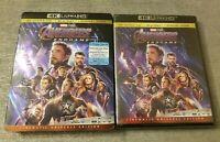 Avengers: Endgame (4K UHD Blu-ray/Blu-ray, Digital HD, 2019) NEW w/Slipcover