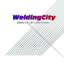 "WeldingCity 5-Lb ER4043 Aluminum 4043 TIG Welding Filler Rod 1/16""x36"" | 5-Lb"