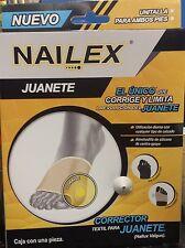 NAILEX Corrects & Limits Bunion All Day Sleeves*Corrector de Juanete