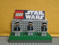 "STAR WARS LEGO LOT  MINIFIGURE--MINIFIG  ""  LOT OF 3  REBEL  TROOPERS  """