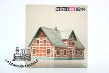 KIBRI 8244 H0 Bâtiment Maison d' treillis en bois «Niederelbe» NEUF à DOMINGO