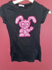 SUPRE Bunny Rabbit Tee Sz XS ~ Minimal Wear ~ 5 ITEMS CLOTHES FREE POST OFFER**