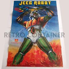 JEEG ROBOT - Poster Vintage PATATINE SAN CARLO Promozionale Raro (Goldrake)