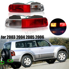2X Rear Bumper Fog Light Tail Lamp Refit For Mitsubishi Pajero Montero 2003-2006