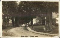 Colrain MA River St. c1910 Real Photo Postcard