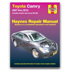 Haynes 92009 Repair Manual Toyota Camry Avalon Lexus ES 350 07-15 Haynes fs
