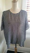Sportscraft Short Sleeve Striped Regular Size Tops for Women