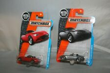 (2) 2016 2017 Matchbox MAZDA 15 MX-5 MIATA Red Silver Lot VHTF