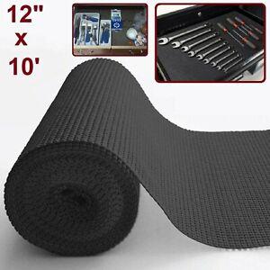 Tool Box Liner Foam Rubber Non Slip Select Grip Drawer Shelf Mat Roll Lining Pad