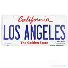 Los Angeles License Plate Souvenir from Online Gift Store
