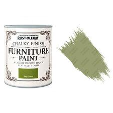Rust-Oleum Craie Crayeux Meuble Peinture Usé Chic 125ml Vert Sauge Mat