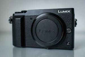 Panasonic Lumix GX80 Digital Mirrorless Camera Black