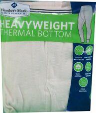 Member's Mark Men's 2X-Large (44-46) Heavyweight Thermal Bottom, Natural