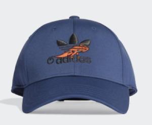 Adidas Black Trefoil Baseball Hat Cap FM1668 OSFM/OSFW Unisex