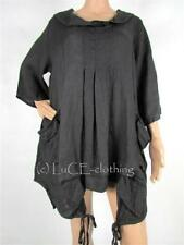 Linen 3/4 Sleeve Casual Tunic Tops & Blouses for Women