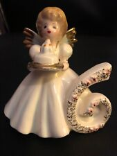 Josef Original Birthday Angel Figurine - Age 6