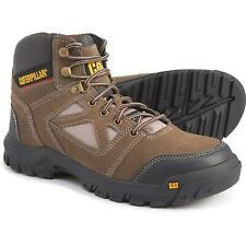 Caterpillar Plan Work Boots - Safety Steel Toe, Leather (For Men)
