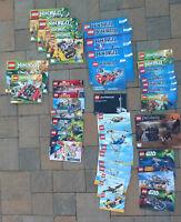 LEGO Instruction Manual Lot Ninjago Creator Star Wars Super Hero More 40 books