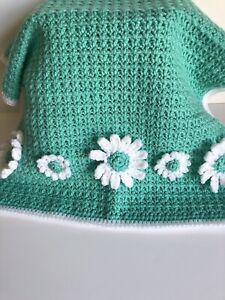 Crochet Daisy Baby Blanket