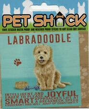 """CLASSIC SIGN AND DESIGN - """"LABRADOODLE"""" DOG/PUPPY/STICKER         *NEW & SEALED*"""