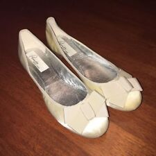 Flat (0 to 1/2 in.) Satin Bridal or Wedding Shoes for Women