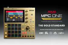 AKAI MPC ONE Gold Edition - Standalone Sampler/Sequencer