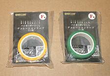 Resident EVIL BIOHAZARD HD Remaster Giappone Promo Limited TAPE/Nastro Adesivo Set