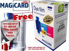 Genuine Ribbon Magicard Dye Film MA300YMCKO For ID Card Printer Magicard