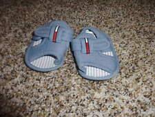 TOMMY HILFIGER INFANT BABY BLUE SANDALS  ONE SZ 0 1